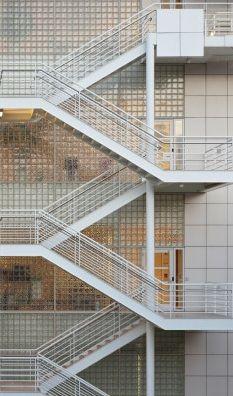 external stairs, svalegang