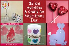 25 Valentine Crafts & Activities for Kids from Reading Confetti