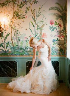 Beautiful gown: http://www.stylemepretty.com/little-black-book-blog/2015/03/23/elegant-boysenberry-wedding-at-the-villa-terrace/   Photography: Lexia Frank - http://www.lexiafrank.com/