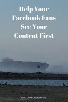 Help Your Facebook Fans See Your Content First and more often! Did you catch the latest tweak to the Facebook newsfeed algorithm? It's simple to update your preferences and take a little more control over what you see in your newsfeed.