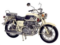 This is a 1965 Honda 450 Police Special, and it's as rare as hen's teeth. Just 25 were shipped from Japan to the US, probably because most Police Departments were used to ordering bikes of more than a liter in engine capacity.