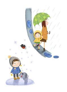 Olga Demidova - professional children's illustrator, view portfolio