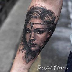 super clean and beautiful job from Daniel Flower  @ Dublin Ink #tattoo#art #Dublin #Ireland