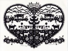 Swiss art - Pays-d'Enhaut Wood Carving For Beginners, Paper Cutting, Switzerland, Folk Art, Paper Art, Hand Painted, Handmade, Silhouettes, Images