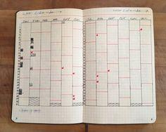 Susiebjournal's Bullet Journal Calendex
