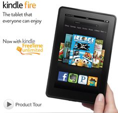 """Previous Generation: Kindle Fire (2012) 7"""", 8GB"""