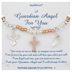 Equilibrium Guardian Angel Keepsake Baby Boy NEW