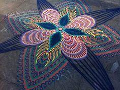 Colorful Sand Mandalas By Joe Mangrum