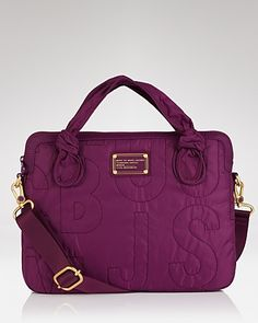 "MARC BY MARC JACOBS Pretty Nylon 13"" Laptop Commuter Case - Handbags - Bloomingdale's"