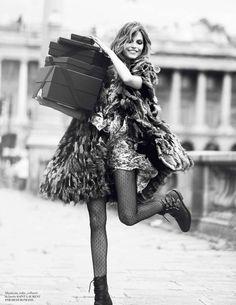 Karlina Caune photographed by David Bellemere for Vogue Paris, September 2013