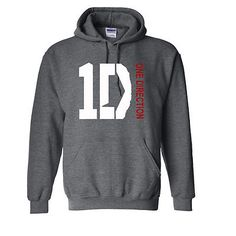 One Direction Hooded Sweatshirt 1d British Boy Band Fan Hoodie 1 D S-5xl #google #onedirection