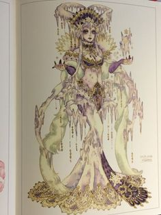 Sakizo Frozen Witch from Fantasy of the Dream