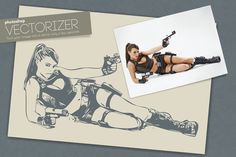 Photoshop Vectorizer by sgc design on Creative Market