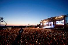 Atemberaubende Kulisse - #Rock am Ring 2014