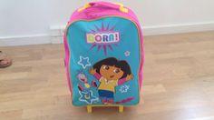 Dora Udforskeren - trolley kuffert til børn med 2 hjul