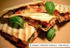 Quesadilla 2. - kreatív | NOSALTY – receptek képekkel