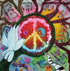 Peace, love, light and shine on.