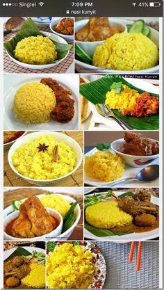 Rice Recipes, Indian Food Recipes, Asian Recipes, Ethnic Recipes, Malaysian Cuisine, Malaysian Food, Dim Sum, Peranakan Food, Snacks Dishes