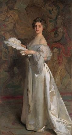John Singer Sargent - Portrait of Miss Ada Rehan