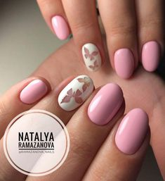Discover new and inspirational nail art for your short nail designs. Stylish Nails, Trendy Nails, Cute Nails, My Nails, Short Nail Designs, Fall Nail Designs, Spring Nail Art, Spring Nails, Uñas Diy