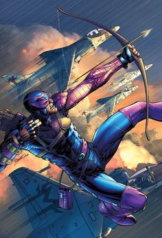 super-nerd: Hawkeye — Brandon Peterson