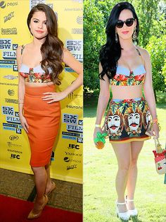 SELENA VS. KATY photo | Katy Perry, Selena Gomez