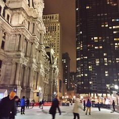 The Rothman Ice Rink at Dilworth Park (Photo by J. Wilson for Visit Philadelphia)