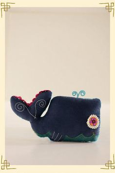 Whale Pillow by Natural Life