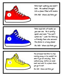 Pete the Cat and Groovy Shoes packet