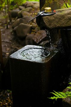 Running water is very important in  Japanese Gardens by jamesjustin on Flickr.