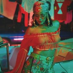 Wild thoughts, Rihanna, 2017 F-  It this one too. Reminds me of Jamaica.