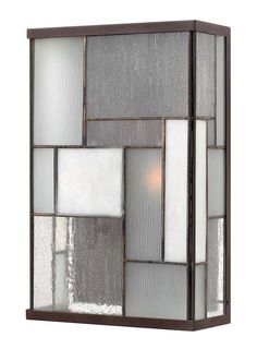 Mondrian Medium Wall Sconce Outdoor shown in Buckeye Bronze by Hinkley Lighting - 2154KZ  sc 1 st  Pinterest & 119 best Contemporary / Modern Outdoor Wall Sconces images on ...