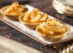 Caramel Apple Cheesecake Tarts http://wm13.walmart.com/Food-Entertaining/Recipes/22446