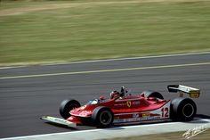 Villeneuve, 1979, France, Ferrari 312T4