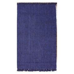 nuLOOM Machine Woven Chunky Loop Jute Area Rug Navy Blue - NCCL01D-8010