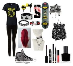 """""""Untitled #76"""" by agjorgjevska16 ❤ liked on Polyvore featuring CO, CellPowerCases, ASOS, Converse, Rouge Bunny Rouge and RGB"""