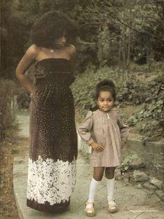 Chaka Khan and daughter