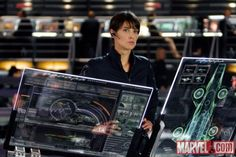 Cobie Smulders in Avengers