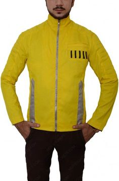 Paris Movie, Leather Jackets For Sale, Star Wars Luke Skywalker, Star Wars Shop, Yellow Leather, Disneyland Paris, New Movies, Movie Stars, Motorcycle Jacket