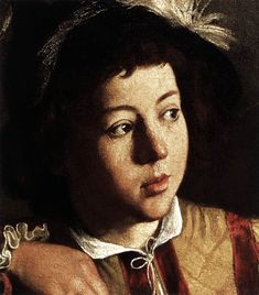 detail - The Calling of St. Matthew - 1599-02 Caravaggio