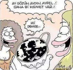 Kahve falı kısmeti :)
