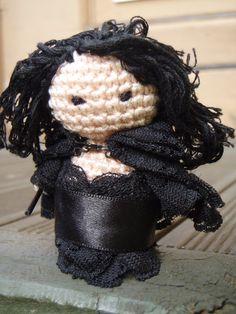 Amigurumi Bellatrix Lestrange by ~honouraryweasley on deviantART