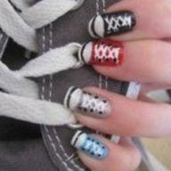 Super cute nail design!!