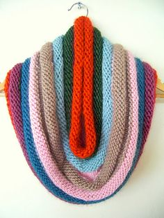 cowl- similar to pickles 'grace kelly' cowl but using different colours
