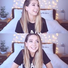 ↞pιnтereѕт: @mariajosemella↠ Zoella Hair, Zoella Beauty, British Youtubers, Best Youtubers, Zoella Lifestyle, Youtube Sensation, Zoe Sugg, Caspar Lee, Ever Pretty