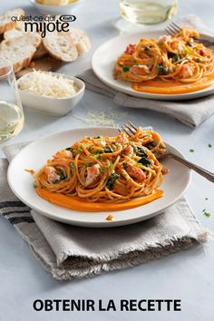 Planning a romantic dinner for two? Elevate pasta night this Valentine's Day with this yummy lobster spaghetti in a flavourful rosée sauce. Tap or click photo for this easy dinner spaghetti