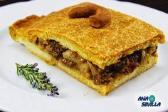 Empanada de carne de ternera Ana Sevilla con Thermomix