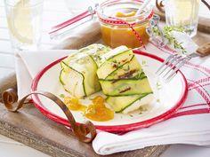 Vegetarisch grillen - Gemüse und Käse vom Rost - gegrillter-halloumi-mangochutney  Rezept