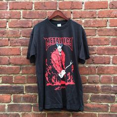 "86 Likes, 3 Comments - Round Two (@roundtworva) on Instagram: ""Metallica Tee going out for sale at 11!  Size Large for $20!"""