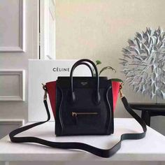 f330ed6ab168 Celine Luggage Micro Boston Bag Calfskin 26CM